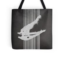 Crocodile Skull Tote Bag