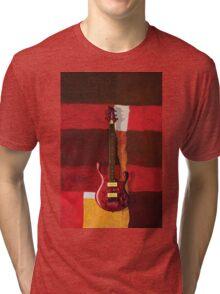 Paul Erdos Guitar Tri-blend T-Shirt