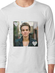 Joe Sugg trippy heart Long Sleeve T-Shirt