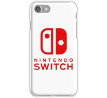 Nintendo Switch New Console iPhone Case/Skin