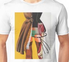 collage CLOTHES NAKED Unisex T-Shirt