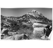 Turkey Peak, Enchanted Rock Poster