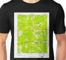 USGS TOPO Map California CA Donner Pass 297317 1955 62500 geo Unisex T-Shirt