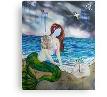 Into the Waves Original Oil Painting Prints Canvas Print