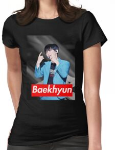 Baekhyun Womens Fitted T-Shirt