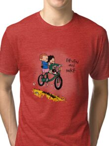 Eleven and Mike Tri-blend T-Shirt