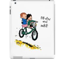 Eleven and Mike iPad Case/Skin