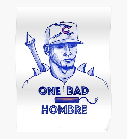 Javier Baez: One Bad Hombre Poster