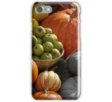 Harvest fruits iPhone Case/Skin