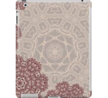 Autumnal abstract lace arabesque mandala ornament iPad Case/Skin