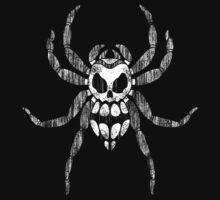 Skull Spider One Piece - Short Sleeve
