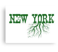 New York Roots Canvas Print