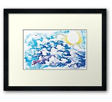 Who Brings Forth The Day Framed Print
