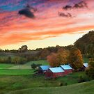 Jenne Farm in Autumn by Randy  LeMoine