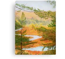 McCrea Lake Look-Out Canvas Print