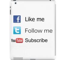 Nerd Things - Social  iPad Case/Skin