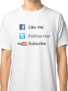 Nerd Things - Social  Classic T-Shirt