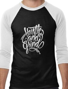 Hustle & grind Men's Baseball ¾ T-Shirt