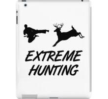 Extreme Hunting Karate Kick Deer iPad Case/Skin