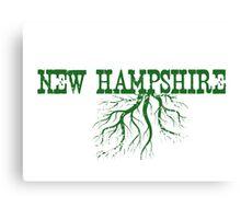 New Hampshire Roots Canvas Print