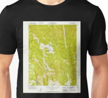 USGS TOPO Map California CA Capell Valley 288936 1951 24000 geo Unisex T-Shirt