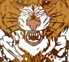 Sabertooth Tiger Sticker