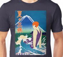 Vintage Summer at Miho Peninsula Japan Travel Unisex T-Shirt