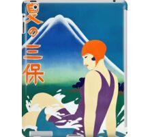 Vintage Summer at Miho Peninsula Japan Travel iPad Case/Skin