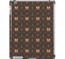 Louboutin Nude Paris Eiffel Travel in brown monogram pattern iPad Case/Skin