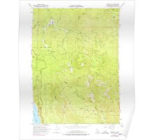 USGS TOPO Map California CA Childs Hill 289186 1966 24000 geo Poster