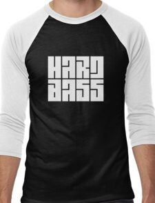 hard bass Men's Baseball ¾ T-Shirt