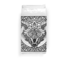 Wolf Head Duvet Cover
