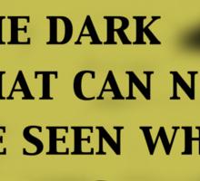 Twilight Zone Quote Sticker