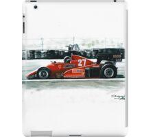 1983  Ferrari 126C3 iPad Case/Skin