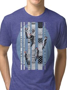 Woodpeckers Forest Tri-blend T-Shirt