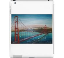 SAN FRANCISCO AND THE GOLDEN GATE BRIDGE iPad Case/Skin