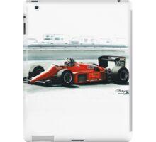 1985  Ferrari 156/85 iPad Case/Skin