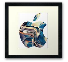 apple logo Framed Print