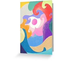 Blob Wave Greeting Card