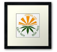 gods herb  Framed Print