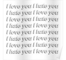 I hate you I love you {FULL} Poster