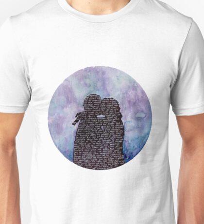 GLEGGIE LYRICS PRINT Unisex T-Shirt