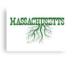 Massachusetts Roots Canvas Print