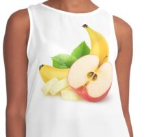 Apple and banana Contrast Tank