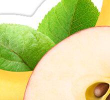 Apple and banana Sticker