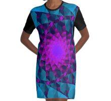 dark starlight Graphic T-Shirt Dress
