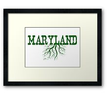 Maryland Roots Framed Print
