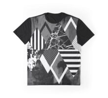 Stand Out! In Black And White Graphic T-Shirt