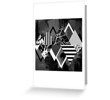 Stand Out! In Black And White Greeting Card