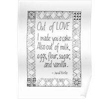 Cake of Love Poster